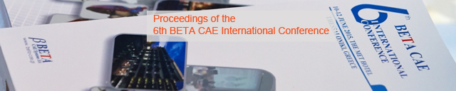 6th BETA CAE International Conference 2015