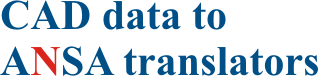 CAD data to ANSA translators logo