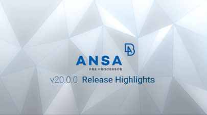 Release Announcement BETA CAE Systems suite v20 0 0